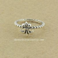 Cheap Fashion Chrome Hearts Scout Flower 925 Silver Rings Hot Sales Online
