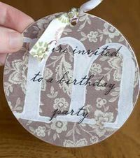 Very cute party invite could make it adult or child!