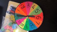 DIY Clock Activity for Toddlers and Pre-Schoolers. For a step by step guide visit - https://www.cubsta.com/au/tick-tock-a-colourful-diy-clock-for-ages-3-5-years-and-up/