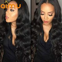 13x6 Deep Part Body Wave Lace Front Wig $130.54