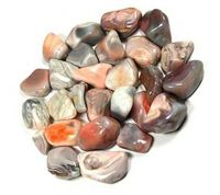 Look what's new! Brazillian Agate Tumbled Stones just in at The Ancient Sage!