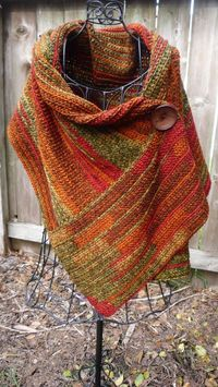 Beautiful crocheted wrap
