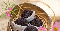 Brigadeiros - a famous chocolate truffle loved throughout Brazil and Portugal with just 4 ingredients.