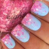 5 cute nail designs for spring. easy nail designs that you can DIY.