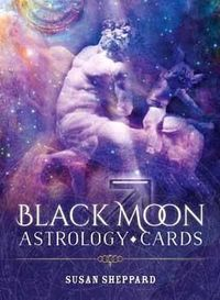Black Moon Astrology Cards By Susan Sheppard $23.95