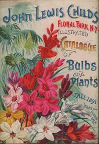 nybg:From the Library: Vintage Floral Park, NY From the 1891Childs' fall catalogue of bulbs published by John Lewis Childs, Floral Park, N.Y. Source: The LuEsther T. Mertz Library's Seed and Nursery Catalog Collection.