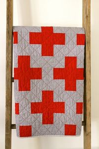 cross quilt featured on Quilter's Pastiche