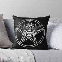 https://www.redbubble.com/i/throw-pillow/Blessed-Bee-by-ShayneoftheDead/45728804.5X2YF?asc=u