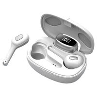 Bakeey T9 TWS Wireless bluetooth 5.0 Earphone LED Display Stereo Portable Earbuds Headphone with Mic