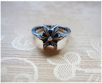 dcf236b590a4 Cheap Chrome Hearts 925 Silver Ring With Hexagon Cross Online Store Classic  silver