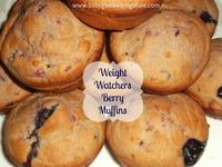 #WeightWatchers Berry #Muffin #Recipe