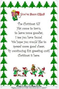Budget101.com - - Christmas Elf Flyer | Homemade Novelty Gift Ideas
