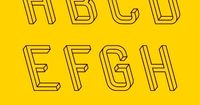 Hungarian designer Martzi Hegedűs has created a single typeface, titled Frustro, on the sole premise of making it impossible. Based on the illusion of the Penrose triangle (which is by definition, an impossible object whose creator deemed it �€...