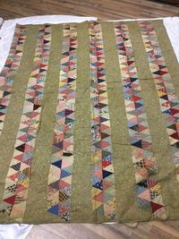 Beautiful Vintage Antique Handmade Quilt 66 X 83, eBay, 4theloveofoldandnew