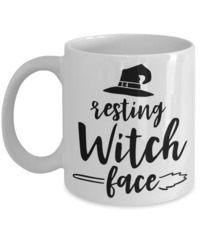 Resting Witch Face Halloween $18.95