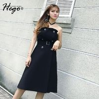 Strapless Sexy Vintage Attractive Slimming Off-the-Shoulder High Waisted Summer Dress - Bonny YZOZO Boutique Store
