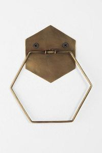Hexagon Towel Ring from Urban Outfitters