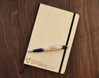 Personalized Wood Notebook / Journal $28.99 �œ�Handcrafted in the USA! �œ�