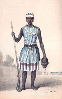 The Dahomey Amazons were an all-female army that fought for the Kingdom of Dahomey (now Republic of Benin) for almost 200 years.