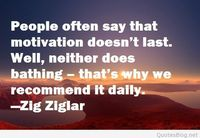 People and motivation quote