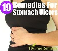 Stomach ulcers or peptic ulcers are small holes or sores in the stomach. They cause a severe burning sensation, which may also be accompanied by pain. The pain