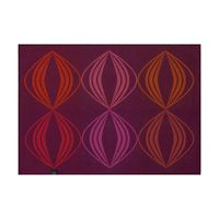 Kaléidoscope Vision Purple Reversible Placemats $92.00