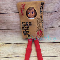 Postage Mail Elf Outfit