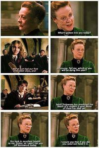 Should have been in the movie... I love this... Never fear the unknown or the assumed and Heck, if you die today you will not have to do your work... Ha this is Great... So many lessons in Harry Potter... Look for the Truth...