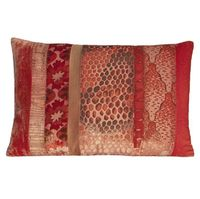 Coral Velvet Patchwork Pillows by Kevin O'Brien Studio $122.00