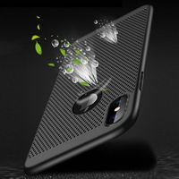 Bakeey Heat Dissipation Protective Case For iPhone XS Max Hard PC Fingerprint Resistant Back Cover