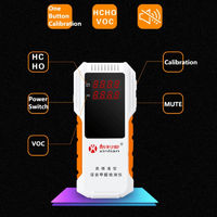 Digital Formaldehyde Detector Air Analyzers Home Detection Tool Health CareThousands of Accurate Measurement of Formaldehyde Testing VOC One Button Switch LED HD Display Panel