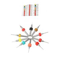 30 pcs Micro Drill Bit Set 0.1 mm to 2 mm Jewelers Drill Bits Watchmaker Tungsten Steel Circuit Board Drill Bits $47.80