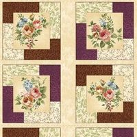 another simple but effective quilt idea using panel squares