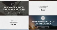 Huckberry ecommerce welcome email