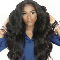 Long Curly Wavy Wig with Lace Bangs $69.99