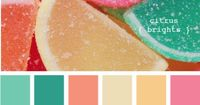 I don't think I would put these colors all together but I really like them individually.