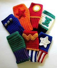 Superhero Wristies Nerdifacts makes adorably geeky wristies inspired by superheroes, including The Avengers. Midnight showings can be cold, these should keep you warm.