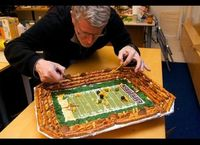 "wow. this and 10 other ""edible stadiums"" for super bowl parties?"