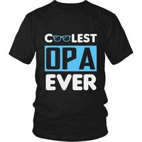 Cool Opa, Coolest Opa Ever T-Shirt, Gift for Opa, Gift for Dad, Gift for Grandpa, Opa Gift, Opa T-Shirt, Opa Shirt $20.99