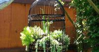 Take common household items and repurpose them into charming garden art. Most can be made for less than $20.