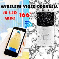Smart Video Wireless WiFi DoorBell IR Visual Camera Record Home Security System + Indoor Receiver