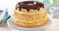 Take JELL-O to another level with our Easy Layered Boston Cream Pie recipe. Our desserts are easy to make and hard to resist. View the recipe now at http://www.jello.com/recipe/easy-layered-boston-cream-pie?utm source=share-pinterest&utm medium=social...