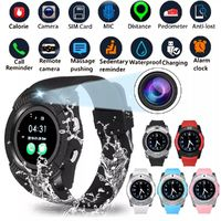 Bakeey V8 Butil-in GPS Activity Tracking 360MHz 32G TF Card Extension SMS Music Player Smart Watch Phone