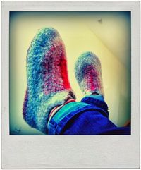 How to get the Correct Size When Felting Crochet Slippers