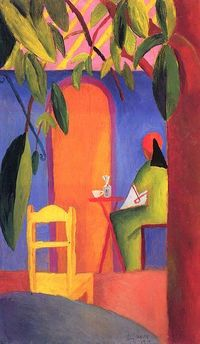 August Macke ~repostned Via Tim Dayhuff