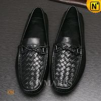 [Leather Shoes Reviews]CWMALLS® Chicago Woven Leather Driving Moccasins CW706163