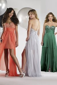 Asymmetrical Sweetheart Short Party Dress