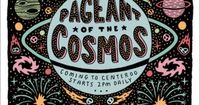 Poster/identity by Joseph Veazey for the Adult Swim �€œPageant of the Cosmos�€ at Bonnaroo.