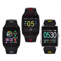 XANES® AK18 1.3'' IPS Touch Screen IP67 Waterproof Smart Watch Call Reject Remote Camera Stopwatch Multiples Sports Modes Fitness Bracelet