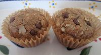 Gluten Free- Vegan- Oatmeal Chocolate Chip Mini Muffins- Paleo- Grain Free - Egg Free - Dairy Free- Healthy- Nut Free -Kid Friendly- 2 Pack $13.75